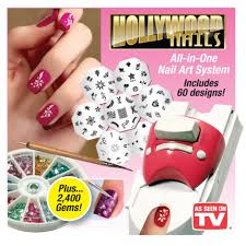 hollywood nails all in one nail art system lazada malaysia