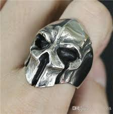 cool finger rings images Best quality men 39 s fashion jewelry spartan helmet ring 316l jpg