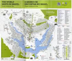 map of brasilia maps of brasilia the capital of brazil i see american