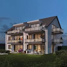 modernes mehrfamilienhaus ideal bau gmbh