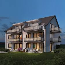 Mehrfamilienhaus Modernes Mehrfamilienhaus Ideal Bau Gmbh