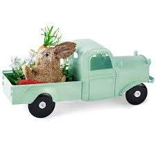 JCPenney Home Easter Metal Truck Tabletop Decor JCPenney