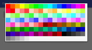 android color picker android how to create a color picker dialog