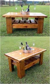 Wood Pallet Patio Furniture - low cost diy pallet wood creations wood pallet furniture