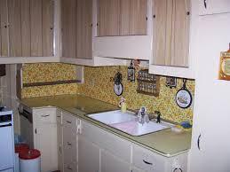 Vinyl Wallpaper Kitchen Backsplash  Great Home Decor Smart - Wallpaper backsplash kitchen
