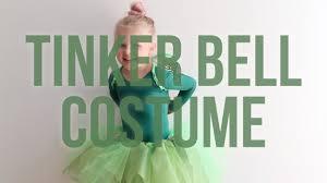 disney u0027s tinker bell no sew halloween costume for your kid youtube