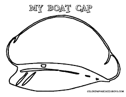 pilot hat coloring page kids drawing and coloring pages marisa