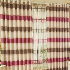 Striped Linen Curtains Charming Plaid And Striped Multi Color Curtains Of Linen Buy