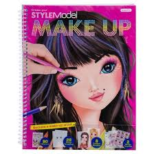 stylemodel makeup sketch pad with stencils target