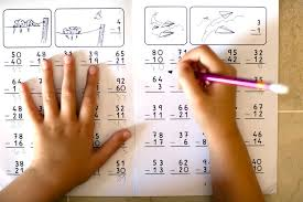 math worksheets 2 digit subtraction with regrouping