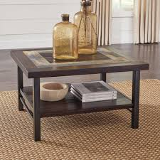 Ashley Furniture End Tables Ashley Furniture Gallivan Rectangular Cocktail Table In Two Tone