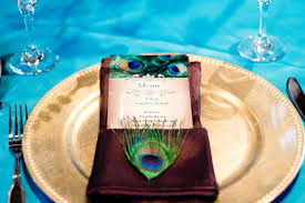 peacock themed wedding peacock themed wedding in with a nontraditional wedding