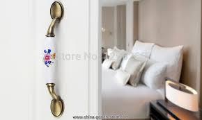 fedex 50pcs ceramic dresser handles for children bedroom cabinet