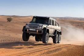 six wheel mercedes suv mercedes g63 amg 6x6 six wheel debuts edmunds