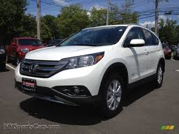 honda crv white 2012 honda cr v ex l 4wd in white diamond pearl 028692