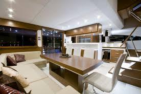 Yacht Interior Design Ideas by Luxury Catamaran Concept Dubbed Picchio Boat Woodpecker Boat
