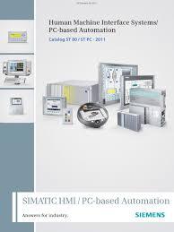 hmi catalog pdf automation personal computers