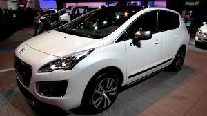 peugeot 3008 interior 2014 peugeot 3008 hybrid4 exterior and interior walkaround