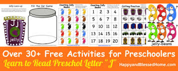 5 free preschool worksheets for preschool alphabet letter j