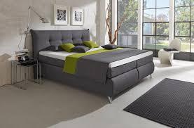 Schlafzimmer Anthrazit Hapo Lexos Boxspringbett In Anthrazit Möbel Letz Ihr Online Shop