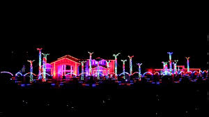 Christmas House Light Show by El Paso