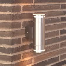 Nordlux Can Maxi Double Outdoor Wall Light Aluminium