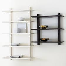 Wall Bookcase With Doors Simple Wall Mounted Bookcase