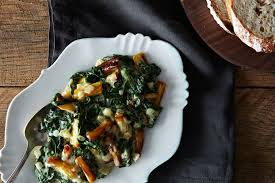 creamed spinach and parsnips recipe on food52
