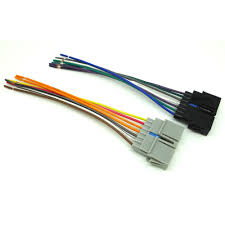 chrysler dodge jeep car stereo cd player wire harness aftermarket