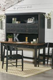 industrial magnolia home dining kitchen industrial postman s desk and hutch