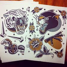 318 best tattoo flash art images on pinterest traditional
