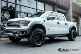 Ford Raptor Black - ford raptor with 20in black rhino el cajon wheels exclusively from