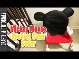 mickey mouse chair covers mickey mouse rocking chair cover room deco the290ss