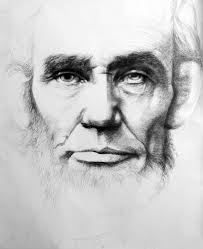 linda newman boughton abraham lincoln large black and white