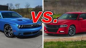 dodge charger vs challenger dodge charger vs dodge challenger carsdirect