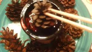 diy scented holiday pine cones youtube
