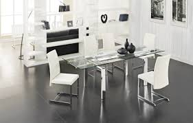 Extendable Dining Table Stark Dining Table 4 Fabio Chairs Creative Furniture