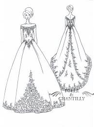 drawn wedding dress cocktail dress pencil and in color drawn