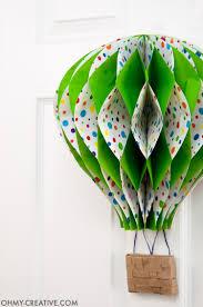 hot air balloon decorations diy hot air balloon decor oh my creative