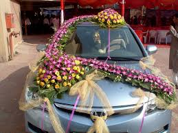 wedding car decoration photos in india decorating of party