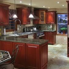 Kitchen Design Cherry Cabinets by Black Granite With Cherry Cabinets Kitchen Jpg Kitchen