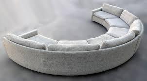 milo baughman semi circular party sofa milo baughman modern