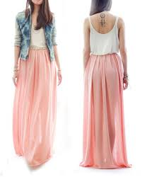 flowy maxi skirts flowy maxi skirt for fall on the hunt