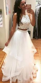 all white graduation dresses prom dress beading two prom dresses prom