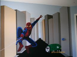 faux finishes murals dave collins designs spiderman