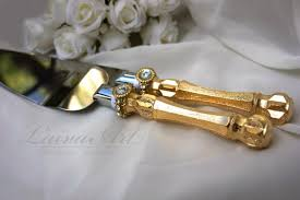 wedding cake knife set gold wedding cake server set knife cake cutting set wedding cake