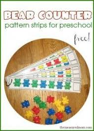 color recognition learning patterns and making letters with