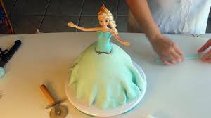 how to make a frozen princess doll cake disney frozen elsa doll