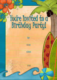christmas party invitations free templates free printable beach party luau and bbq invitations templates