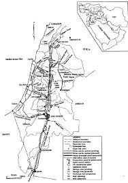 Dead Sea Map Map Of Proposed Med Red Dead Sea Canals And Peace Drainage Canal